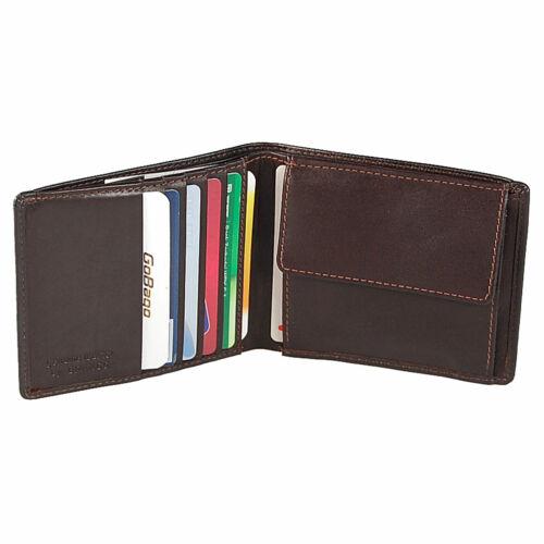 Branco Portafoglio Uomo Pelle Clip dollari senza Münzfach portafoglio clip denaro 97749