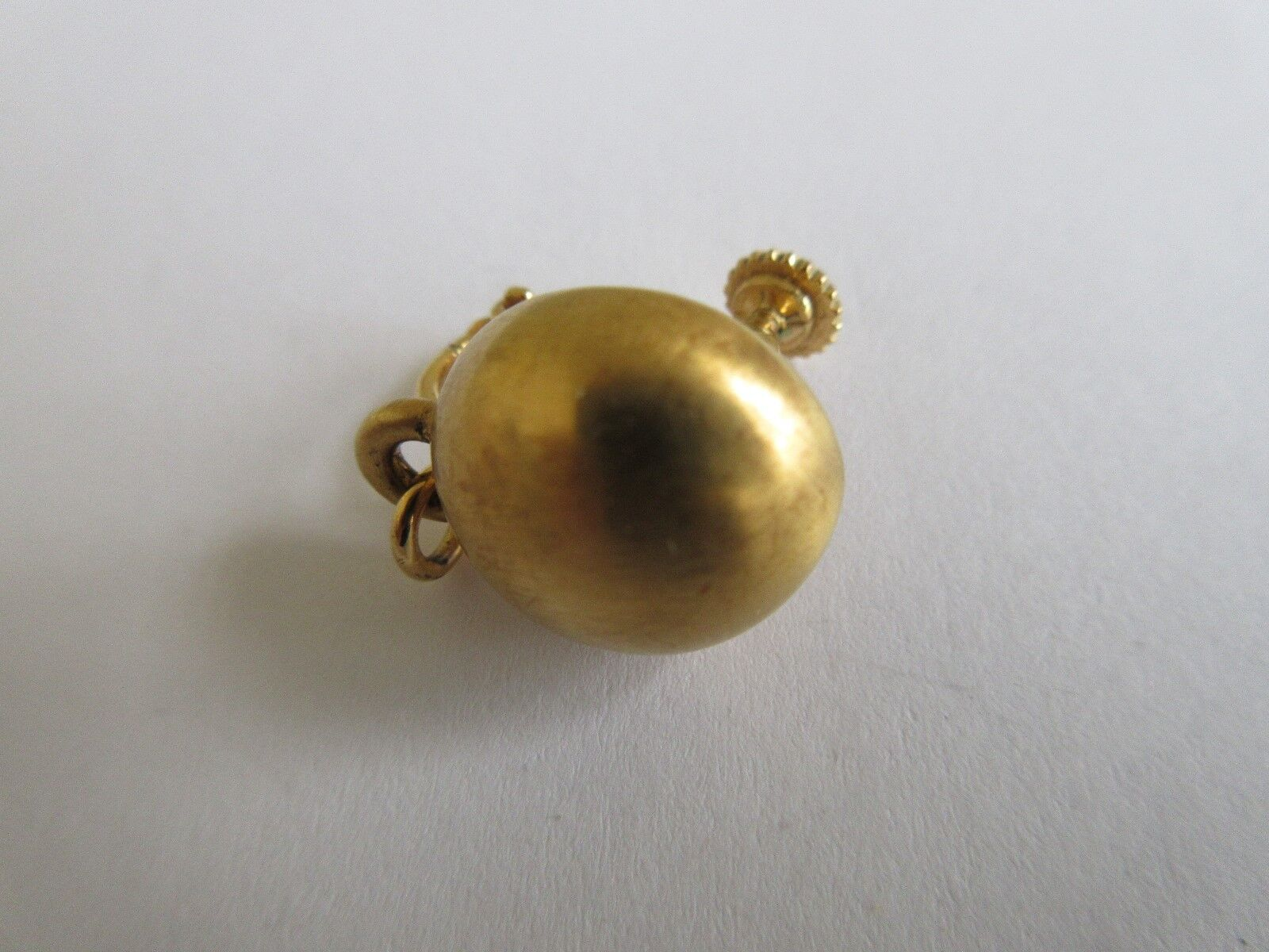 Ladies , Napier , Clip on Earing (1 Only) , Gold Plated
