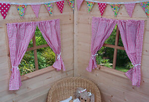 Image Is Loading KIDS PLAYHOUSE CURTAINS GIRLS Amp BOYS SUMMER HOUSE