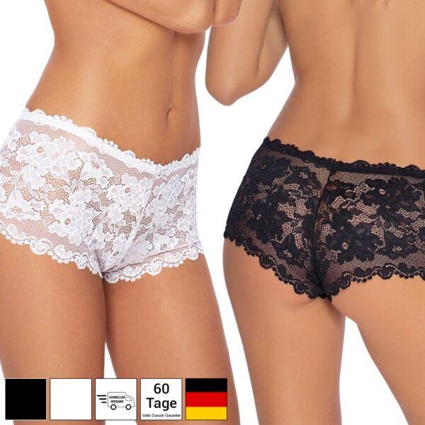 NEU Sexy Slip Damen Unterwäsche Spitze Panty Höschen Shorts Lingerie Boxershorts