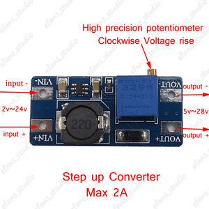 Step-Up-Voltage-Converter-DC2-24V-Boost-Adjustable-Power-Supply-Module-Board-2A