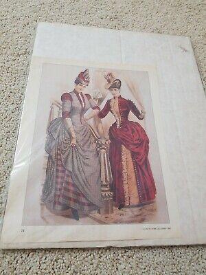 Victorian Art Lady Woman Reading Book Garden 8x10 Print 0681 A Summer Beauty