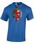 WALES SKULL MENS T-SHIRT GYM TRAINING TOP PUNISHER WELSH FLAG RUGBY FAN COL