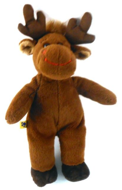 Hal Moose Small Fry Christmas Plush from Build A Bear Workshop BABW 11