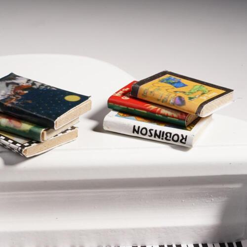 Miniature Books for Dollhouses 1//12 Scale Library Book Mini Books Magazin l L1I3