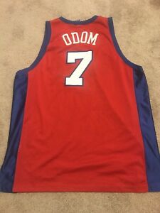 0c12e59138b Image is loading Vintage-Lamar-Odom-L-A-Clippers-Champion-Jersey-56