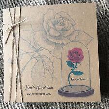 Vintage Rustic Beauty And The Beast Wedding Invitation Disney Wedding  *SAMPLE*