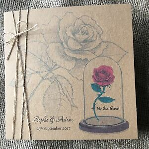 Image Is Loading Vintage Rustic Beauty And The Beast Wedding Invitation