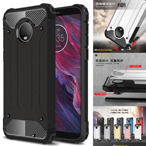 Pour-Moto-G6-Play-G6-E5-Plus-E5-Play-Etui-Robuste-Armure-Antichoc-Telephone