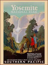 Yosemite National Park California United States Travel Advertisement Poster 2