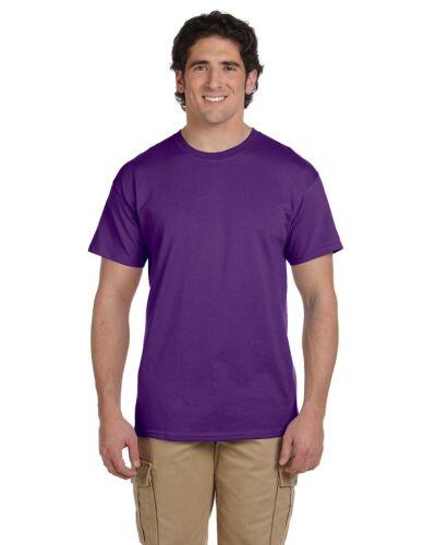 Gildan Ultra Blend PURPLE T-Shirt Short Sleeve NEW XS S M L 2X 3X Youth M NEW