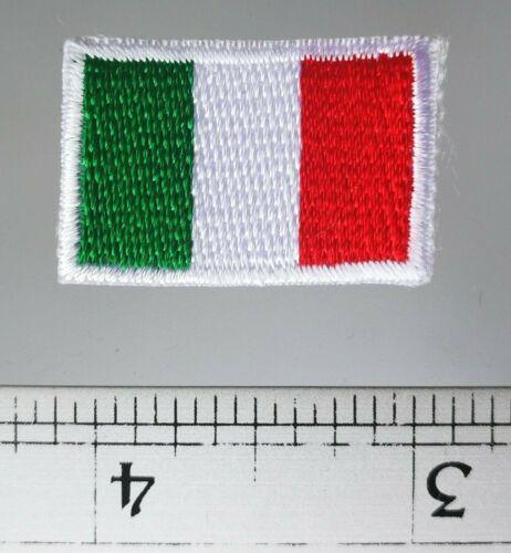 New Italian flag Italy Rome hope faith charity applique iron-on patch Small