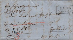 Germany-Lettre-HAGEN-Prusse-Brief-Cover