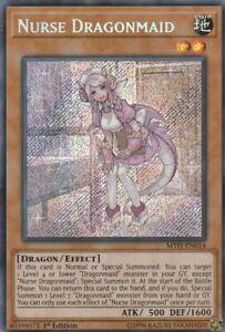 YUGIOH-HOLO-CARD-NURSE-DRAGONMAID-MYFI-EN014-1ST-ED-FREE-SHIPPING-CANADA-USA