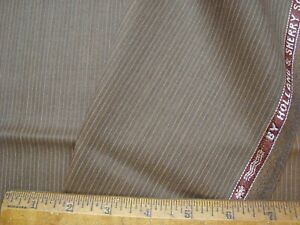 2-83-yd-HOLLAND-SHERRY-Snowy-River-WOOL-Super-120s-FABRIC-8-oz-SUITING-102-034-BTP