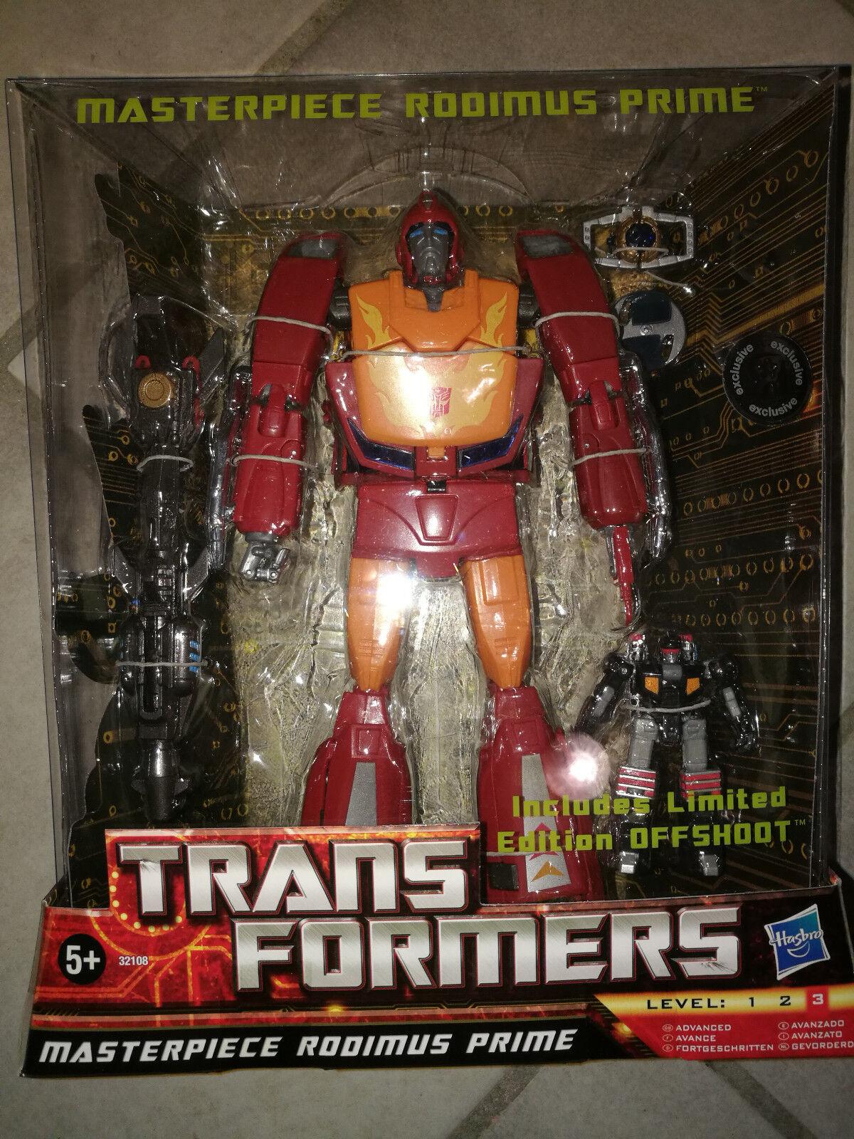 Nuevos productos de artículos novedosos. Transformers Masterpiece Rodimus con targetmaster offshoot offshoot offshoot misb original Hasbro  Para tu estilo de juego a los precios más baratos.