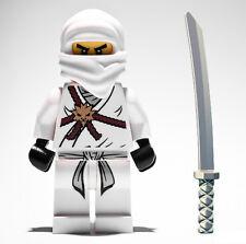 NEW LEGO NINJAGO ZANE MINIFIG figure minifigure white ninja go 2113 2506 2507