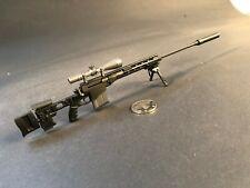 Burnt Bronze LVOA Keymod AR-15 Rifle w//Extendable Stock 1//6 scale toy RIFLE