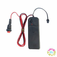 Trigger Driver for 5meter EL Wire - With Long Push Button Plunger Remote Switch