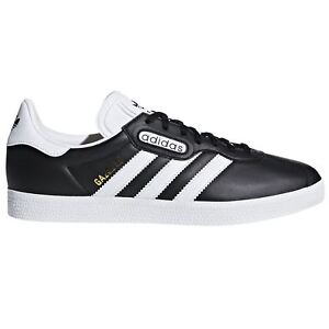 the best attitude 2b612 7168e Image is loading adidas-ORIGINALS-WORLD-CUP-GAZELLE-SUPER-SHOES-BLACK-