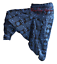 2 Pc Navy Blue Gypsy Aladdin Baggy Hippy Trousers Yoga Casual Indian Harem Pants