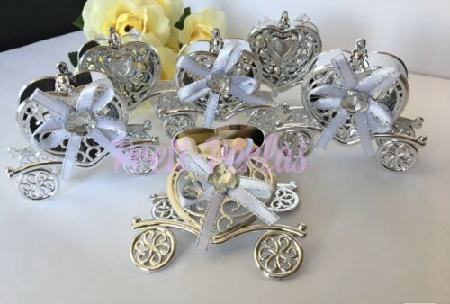 12PC Fillable Baby Shower//wedding//quince Favors Princess Table Decoration Girl