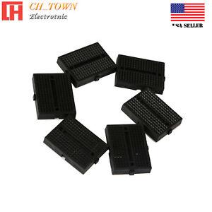6-un-Negro-Mini-Breadboard-SYB-170-170Tie-puntos-sin-soldadura-placa-de-prototipos-EE-UU