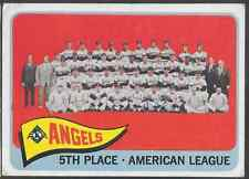 1965 Topps Angels Team 293 Baseball Card