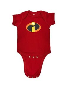 a2e321d46d5 98-29 The Incredibles Jack Jack Funny Baby Romper Bodysuits Sizes ...