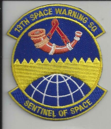 """PATCH USAF 13TH SPACE WARNING SQUADRON 3 1//2/"""" SENTINEL OF SPACE                J"""