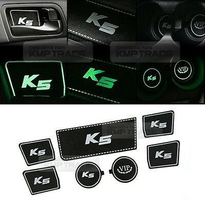 Natural Leather Phosphorescent Tray Pad A-type for KIA 2011-2015 Optima / K5