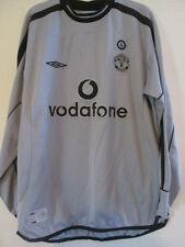 Manchester United 2001-2002 Goalkeeper Football Shirt Medium /37823