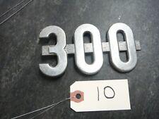 Ih Farmall 300 Utility Tractor Emblem Missing Peg 10