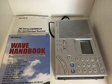Sony Multi-band World Receiver AM/FM Radio (ICF-SW7600GR)--great condition