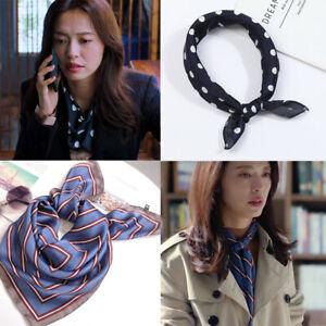 Fashion-Women-Lady-Silk-Square-Scarf-Bandana-Neckerchief-Head-Neck-Wrap-Scarves