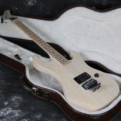 unfinished 5150 electric guitar diy kit basswood body maple floyd rose bridge ebay. Black Bedroom Furniture Sets. Home Design Ideas
