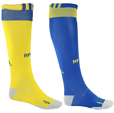 Bello Adidas Spagna Calze Calzini Da Calcio Football Soccer Giallo Blu Aa0777 Ai3824 Corrispondenza A Colori