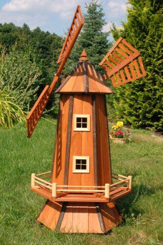 Windmills and Ball Gel Garden Wm130 Windmill Wooden Windmull 1,3 M Imprägn