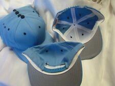 Carolina Light Blue Vintage Made in USA Snapback Blank Hat 8 Lot NEW Med-Large