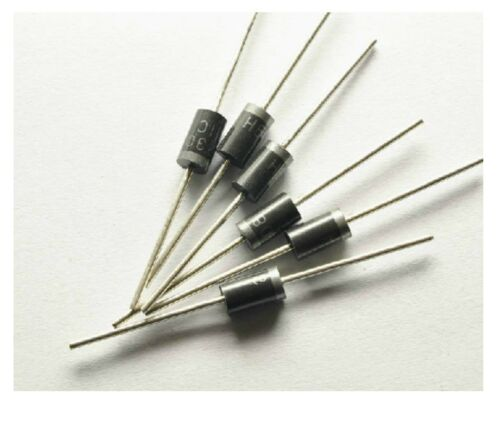 20pcs HER308 High Efficiency Rectifier Diode Ultra Fast Recovery 3A 1000V DO-201
