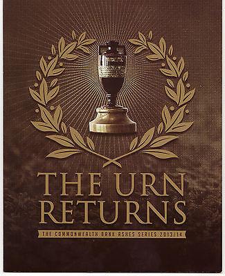 """Australien 2014 Cricket """"the Urn Returns"""" Spezielles Paket Die Asche"""
