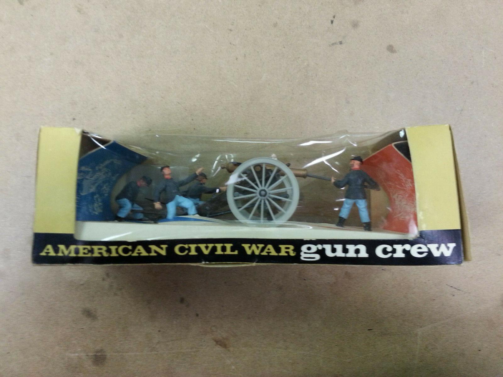 Britain Federal American Civil War 12 Pound Gun Crew & Cannon  A