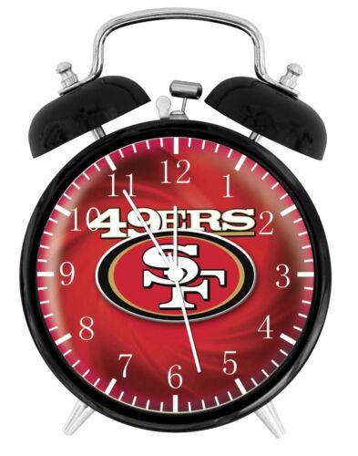 "San Francisco 49ers Alarm Desk Clock 3.75/"" Room Decor E95 Nice for Gifts Quality"