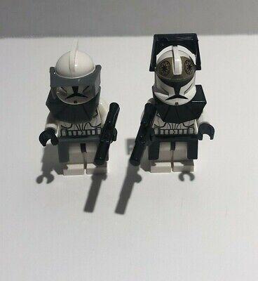 Star Wars LEGO MINIFIG Minifigure sw223 CLONE COMMANDER 8014