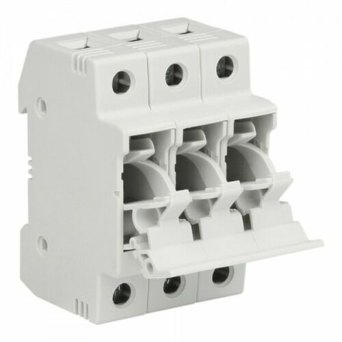 Fuse Socket 32A 3P for rail TH XBS Fuse Holder 3647