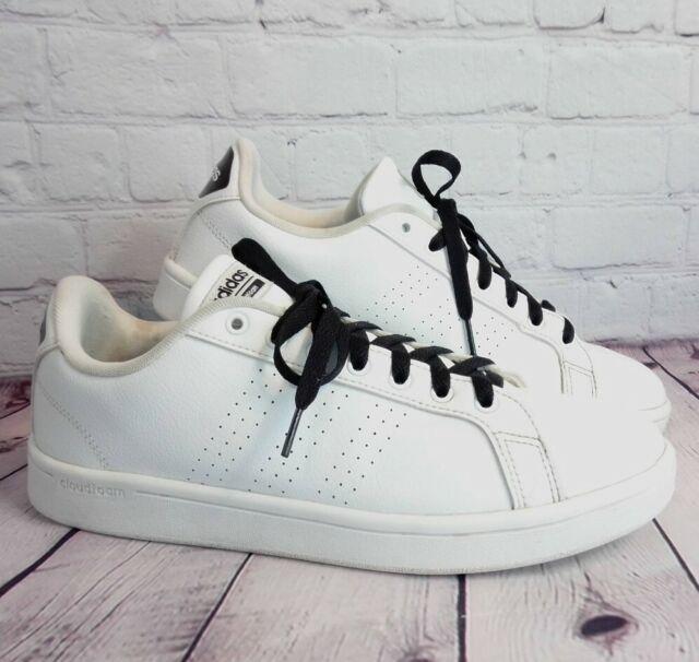 Size 10 - adidas Cloudfoam Advantage Clean White
