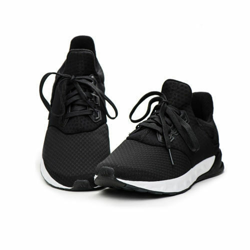85809e7eaab New Uomo Adidas Falcon Elite 5 M M M Running Shoes Nero AF6420 ...