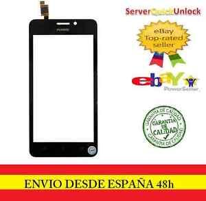 Pantalla-Tactil-para-HUAWEI-ASCEND-Y635-Negra-Negro-Digitalizador-Cristal-tactil