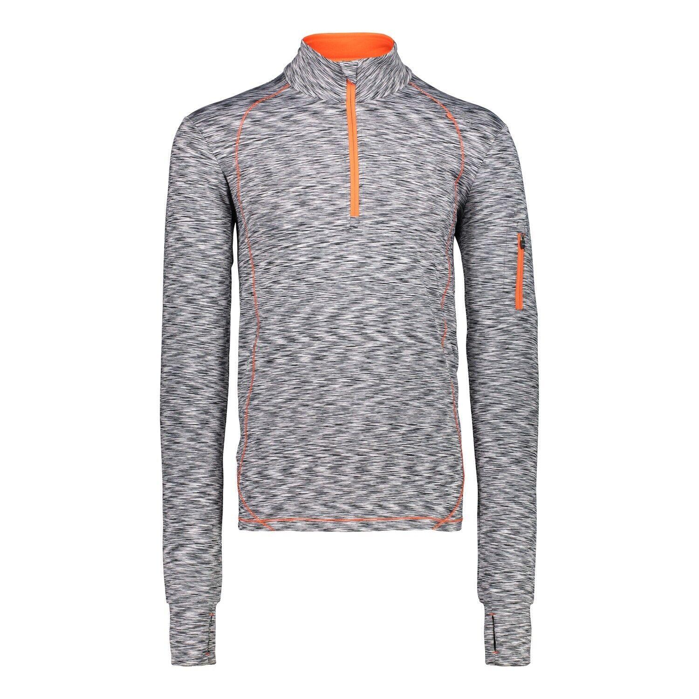 CMP Functional Shirt Shirt One Sweat White Breathable Elastic Mottled