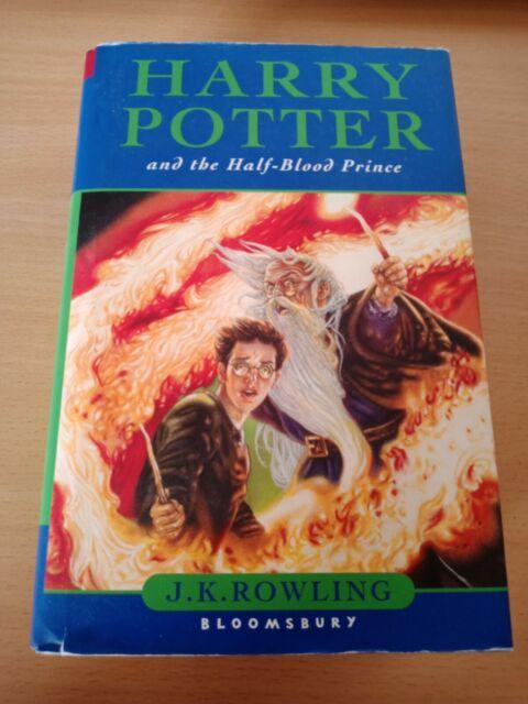 Harry Potter And The Half- Blood Prince Gebundene Ausgabe Englisch